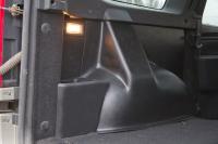 Накладки на ковролин на заднюю арочную нижу в багажнике Lada Largus 2012- 5-местн АртФорм комплект 2шт (Лада Ларгус, яго)