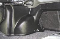 Накладки на арки в багажник Lada Vesta комплект 2шт АртФорм (Лада Веста, яго)