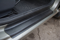 Накладки в проем дверей  Lada Granta 2011- АртФорм комплект 4шт (облицовки для порогов Лада Гранта, яго)