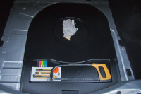 Органайзер верхний в нишу запасного колеса Renault Logan 2014- АртФорм (Рено Логан, яго)