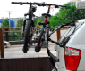 Крепление для перевозки двух велосипедов на задней двери BUZZRACK Pilot BRTR522 (велокрепление, пилот БазРак)