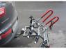 Крепление для перевозки трех велосипедов на фаркопе Amos Titan 3 (велокрепление на три велосипеда, с функцией наклона, Титан Амос)