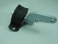 Опора двигателя задняя в сборе БРТ 2110-1001286РУ (ВАЗ 2110-2112 подушка КПП, оригинал)