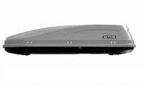 Бокс-багажник на крышу PT Group ACTIVE Base серый 450л 187х88х44 см (автобокс ПТ групп, актив бэйс 00002520)