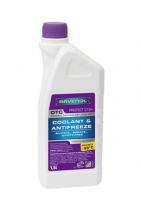 Антифриз RAVENOL OTC Organic Technology Coolant Premix -40°C 1.5л готовый, красный 4014835755512