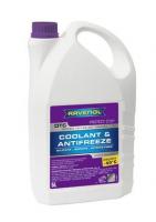 Антифриз RAVENOL OTC Organic Technology Coolant Premix -40°C 5л готовый, красный 4014835755550