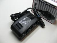 Разветвитель прикуривателя 12V Heyner 511000 4 гнезда + USB (удлинитель, тройник)