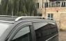 Рейлинги на крышу Can-Otomotiv FIDO.73.0632 Fiat Doblo II 2010- дуги серебро, короткая база (Фиат Добло, Кан Отомотив)