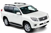 Рейлинги на крышу продольные Winbo OE Style C285099A0BLACK Toyota Land Cruiser Prado 150 черные (Тойота Ланд Крузер Прадо, винбо)