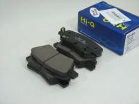 Колодки тормозные дисковые задние Sangsin SP1401 комплект 4шт (Solaris 10-, Rio 11- ...)