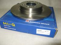 Диск тормозной передний Sangsin SD3049 1шт (Logan, Sandero не вентилируемый, АБС- 7701208252)