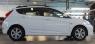 Рейлинги на крышу APS 0262-11 Hyundai Solaris хэтчбек анод серый с вкладышем (Хендай Солярис хэтчбек, АПС)
