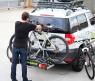 Крепление для перевозки двух велосипедов на фаркопе BUZZRACK Spark 3 New BRBP133 (велокрепление, платформа БазРак)