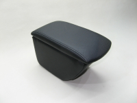 Подлокотник Line Vision для Hyundai Solaris new 17- Стандарт черный (Хендай Солярис новый, лайн вижн 22003IPB)