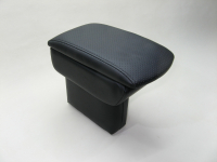 Подлокотник Line Vision для Volkswagen Polo 20- Стандарт черный (Фольцваген Поло седан, лайн вижн 53012ISB)