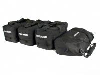 Комплект сумок черного цвета в автобокс Broomer 4шт (сумки брумер 010241)