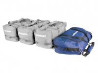 Сумка в автобокс BROOMER Venture носовая 58 л цвет - синий (брумер вентур)