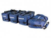 Комплект сумок синего цвета в автобокс Broomer 4шт (сумки брумер 010242)