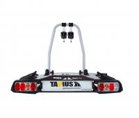 Крепление для перевозки двух велосипедов на фаркопе Taurus Basic Plus 2 T/TB009A2 (велокрепление Таурус бэйсик плюс)