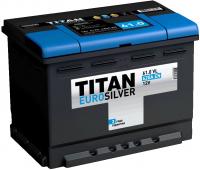 Аккумулятор TITAN EURO Silver 60 А\ч обратная полярность низкий