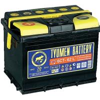 Аккумулятор Тюменская батарея 62 А\ч прямая полярность