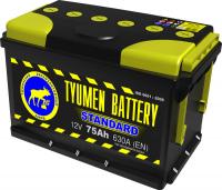 Аккумулятор Тюменская батарея 75 А\ч прямая полярность
