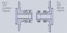Усиленный ступичный узел ВАЗ 2121-21213 с усиленной ступицей, С ДИСКОМ ВолгаАвтоПром левый+правый (Лада 2121-21213 Нива 22 шлица, АБС- ВАП)
