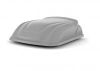 Автобокс YUAGO Lite 250л серый 1100х840х330 (бокс-багажник Яго лайт)