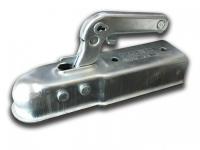 Замковое устройство для прицепа универсальное Leader Plus LPZ 8-F под квадратное дышло 60мм (сцепная головка, замок)